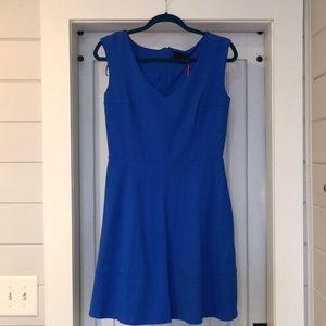 Cynthia Rowley cobalt blue sleeveless dress